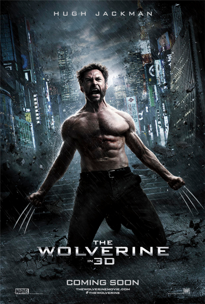 The Wolverine Poster skip crop