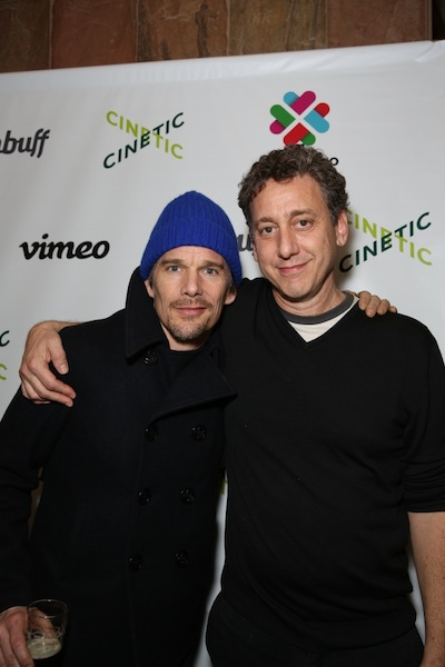 John Sloss and Ethan Hawke