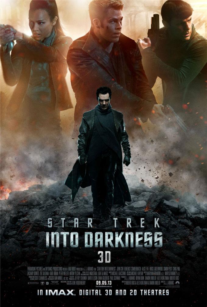 Star Trek Into Darkness Poster skip crop