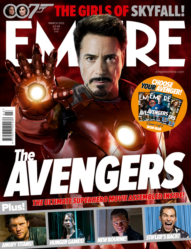 The Avengers Iron Man Empire Cover