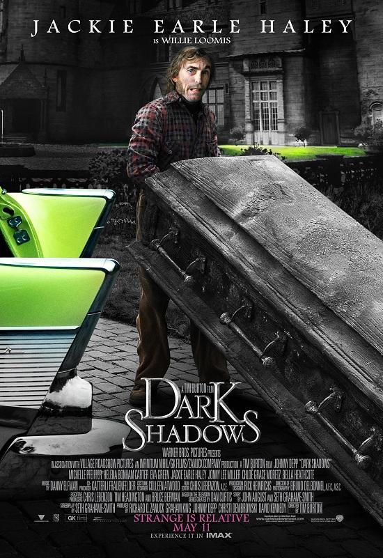 Dark Shadows Jackie Earle Haley poster 2 skip crop