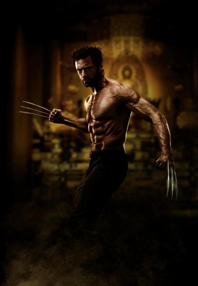 The Wolverine Hugh Jackman skip crop