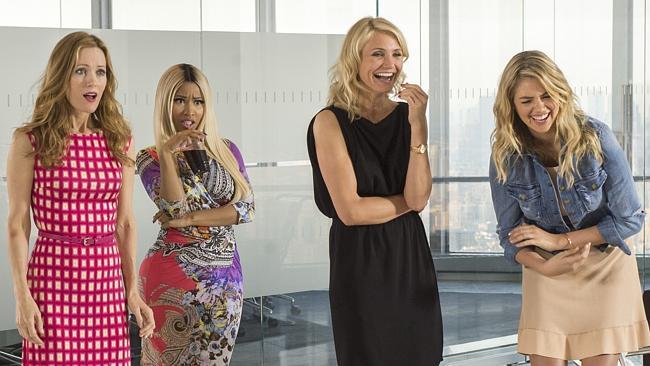 """Leslie Mann, Nicki Minaj, Cameron Diaz and Kate Upton in """"The Other Woman"""""""
