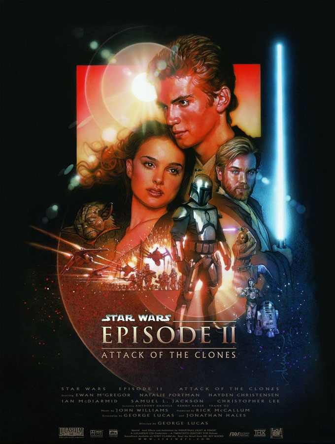 Star Wars Episode 2 Poster