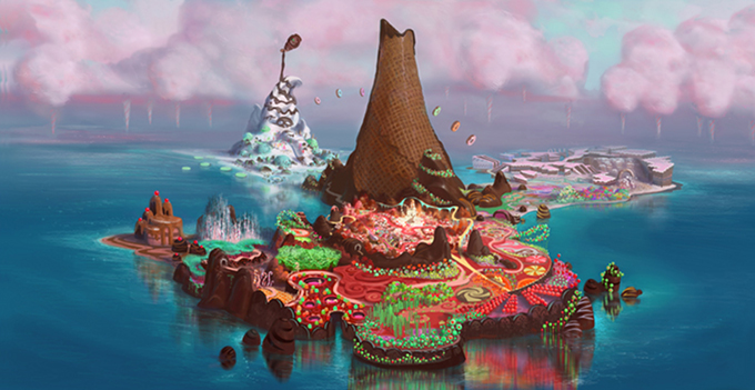 Wreck-It Ralph Sugar Rush