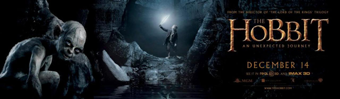 The Hobbit: An Unexpected Journey Banner skip crop