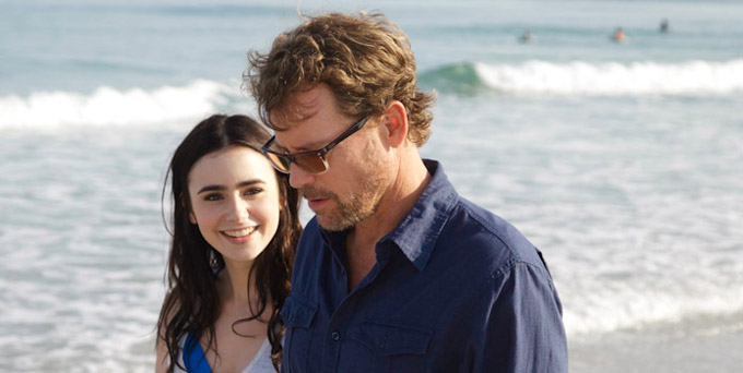 Writers Greg Kinnear Lily Collins skip crop
