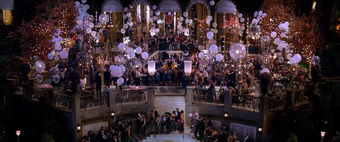 The Great Gatsby,party (skip)