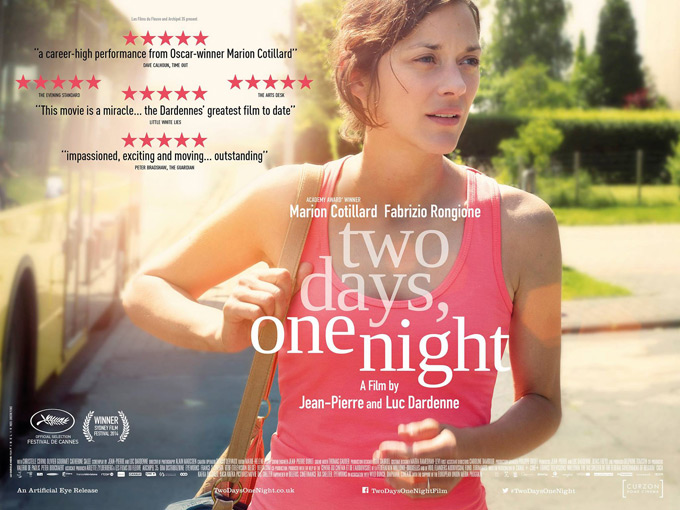 Two Days, One Night, poster