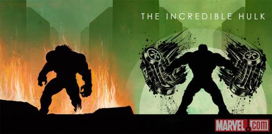 Marvel Hulk Phase One Art