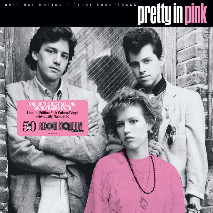 Pretty In Pink LP Artwork