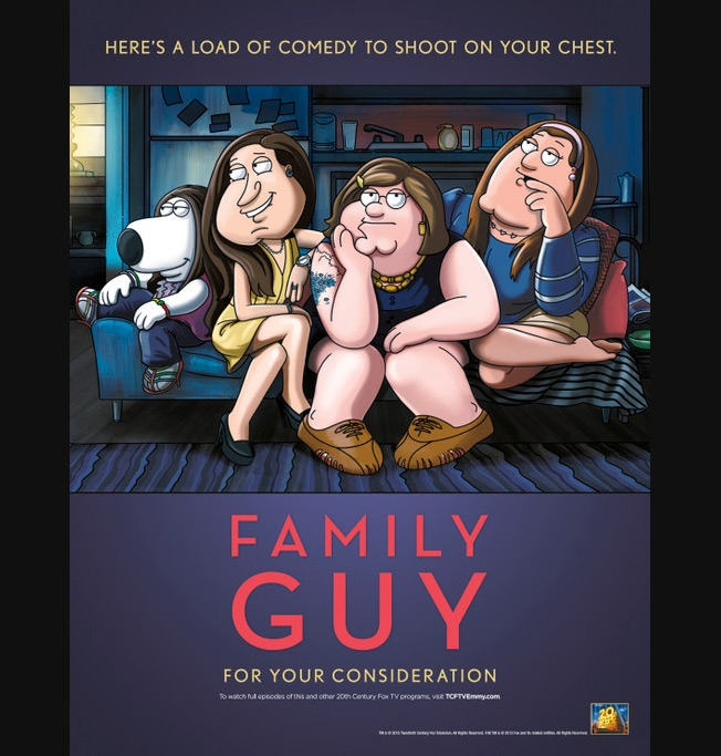 Family Guy For Your Consideration Poster
