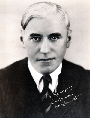 Mack Sennett, actor turned director-producer-mogul.