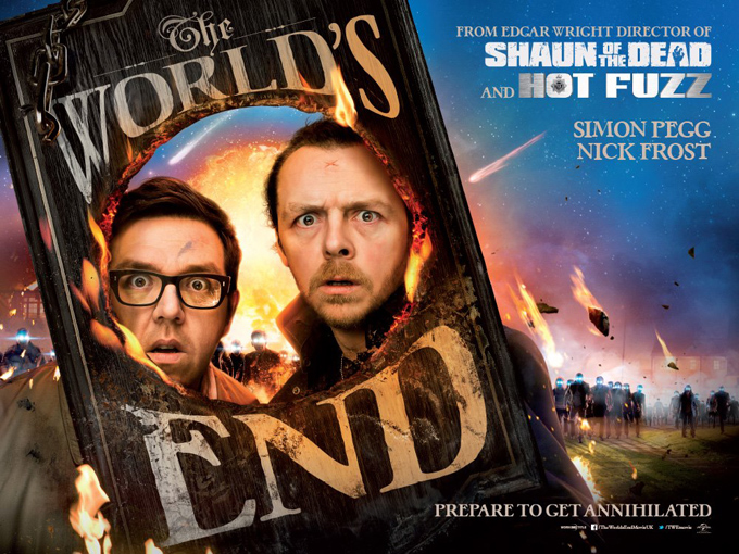 The World's End, banner