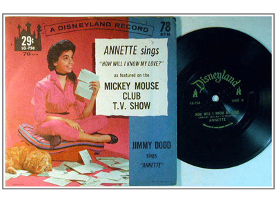 Annette Sings-Mickey Mouse Club-400