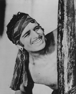 Douglas Fairbanks Sr. in the Thief of Bagdad (1924)