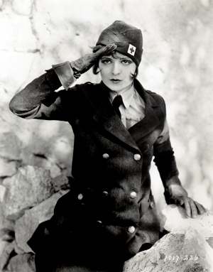 "Clara Bow had ""it"" even in this World War One saga."