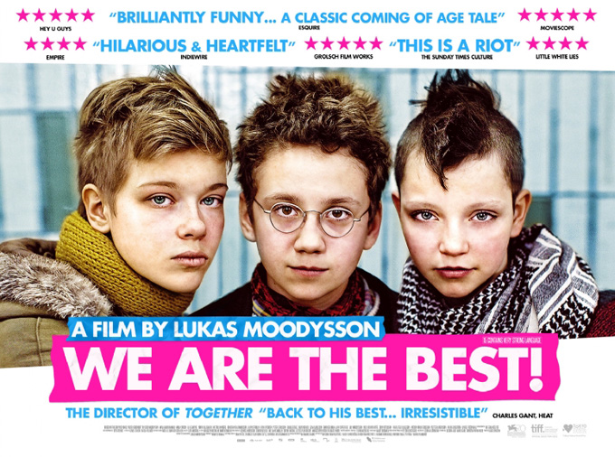 We Are The Best! Poster