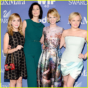The women of 'Mad Men' at Women in Film Crystal Awards