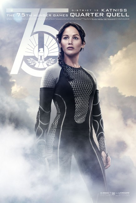 Hunger Games character poster 1
