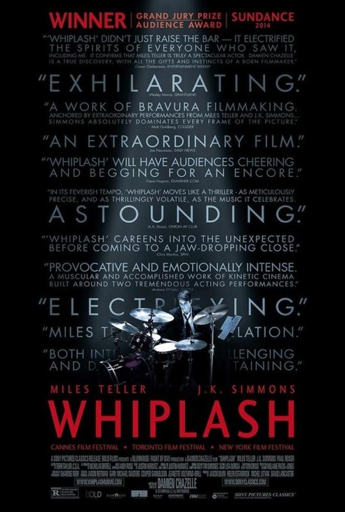 Whiplash, poster