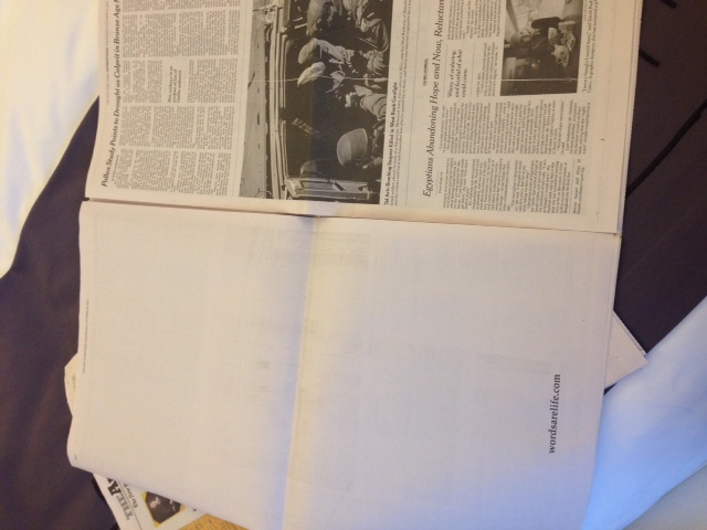 Book Thief NYT promo