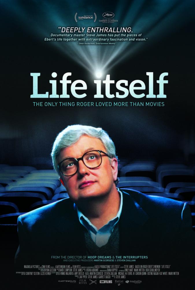 """Roger Ebert Poster for """"Life Itself"""""""