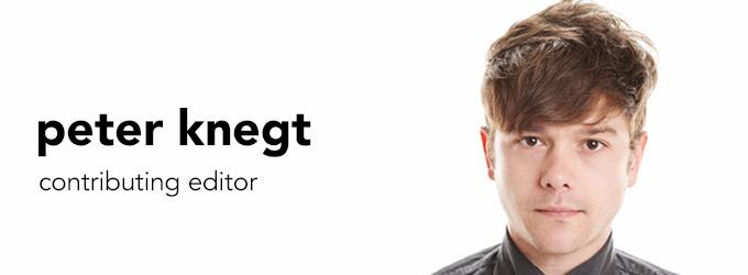 Peter Knegt - Team Page