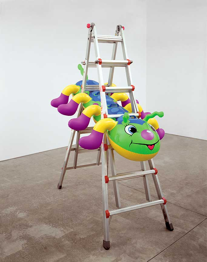 Caterpillar Ladder, by Jeff Koons