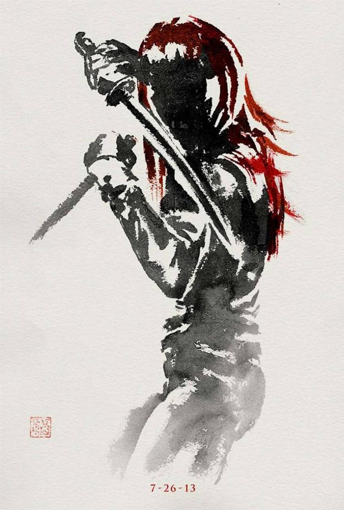 Wolverine Yukio Poster