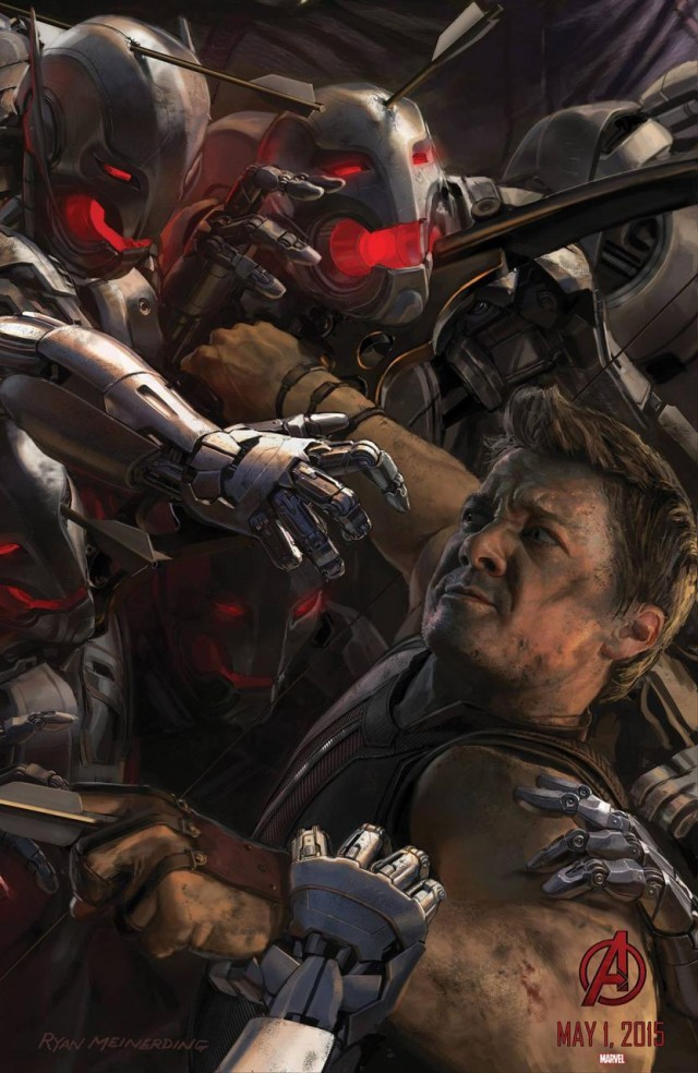 Avengers, Ultron, posters