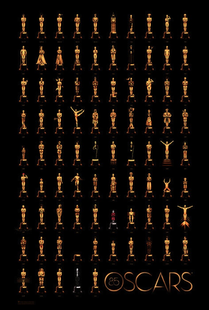 Oscar poster 2013