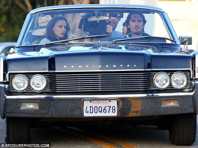 Knight Of Cups Christian Bale Natalie Portman In A Car skip crop