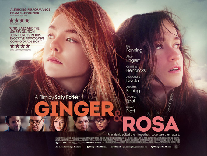 Ginger & Rosa, poster, UK