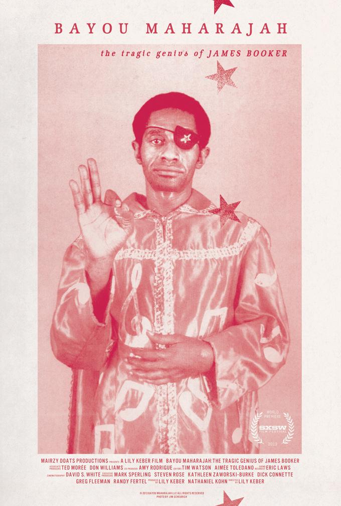 Bayou Maharajah: The Tragic Genius of James Booker, exclusive poster