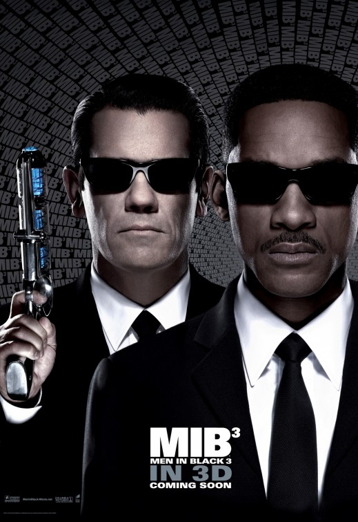 Men In Black 3 Poster Brolin Smith