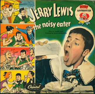 Jerry Lewis the noisy eater