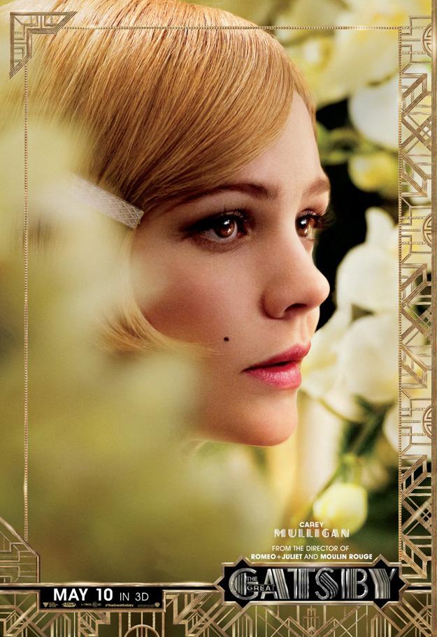 Gatsby Character poster, Mulligan (skip)