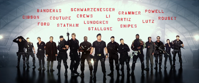 The Expendables 3 Trailer (skip crop)