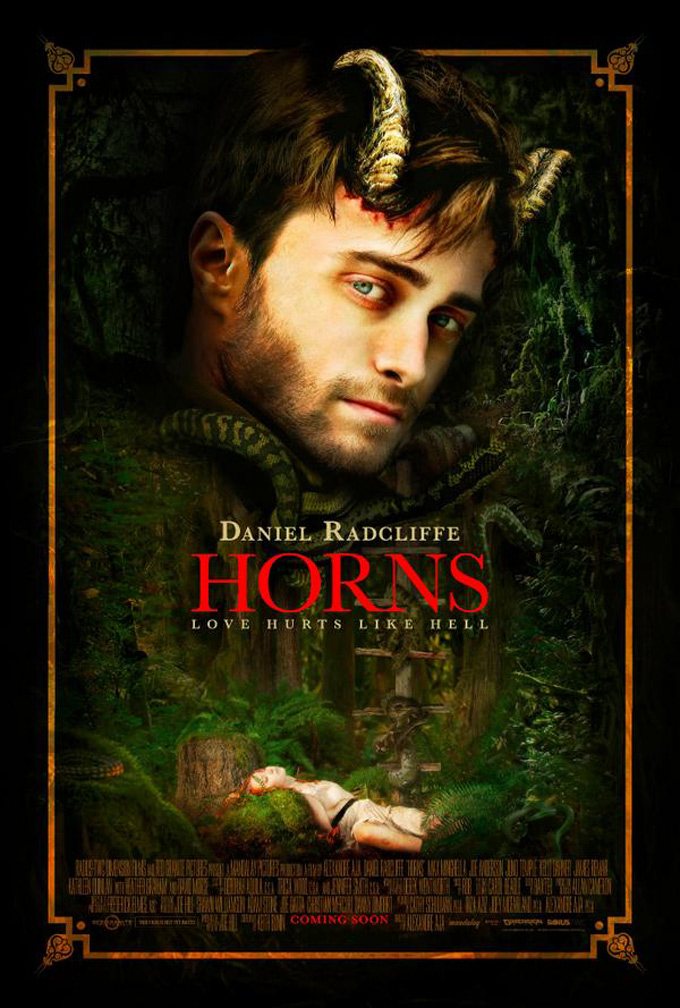 Horns, poster