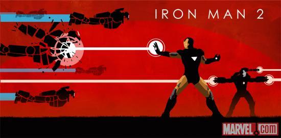 Marvel Iron Man 2 Phase One Art