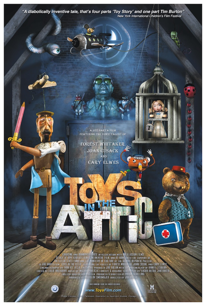 Toys in the Attic poster