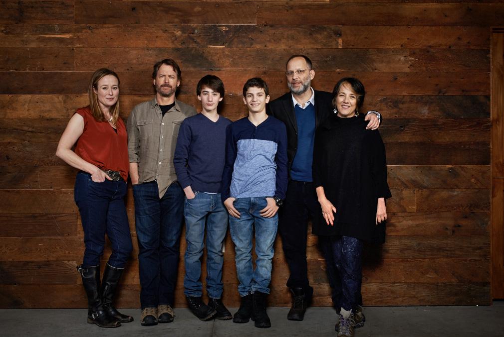 """Little Men"" - Jennifer Ehle, Greg Kinnear, Theo Taplitz, Michael Barbieri, Ira Sachs and Paulina Garcia"