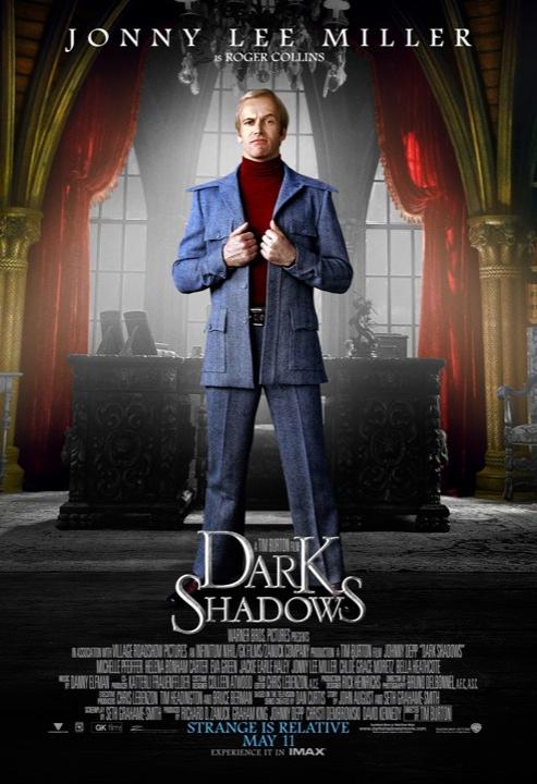 Dark Shadows Poster Jonny Lee Miller