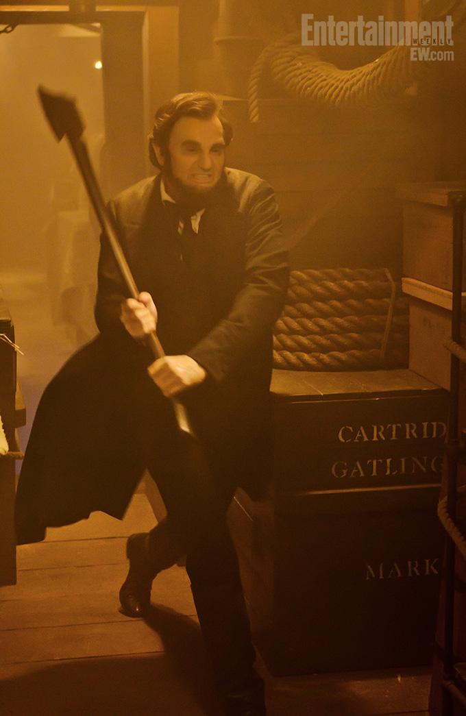 Abraham Lincoln: Vampire Hunter Benjamin Walker EW