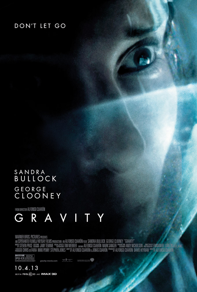 Gravity, Bullock ,poster