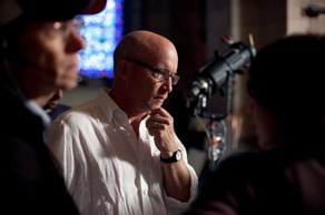 Director Alex Gibney on Set