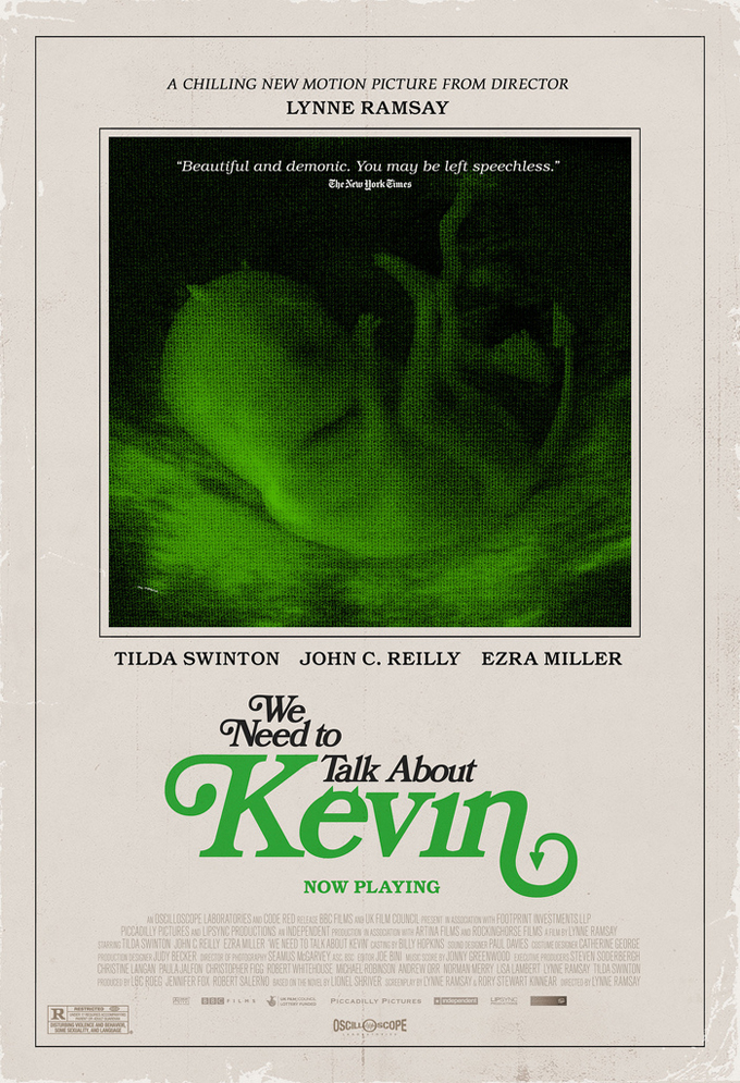 We Need To Talk About Kevin Retro Poster