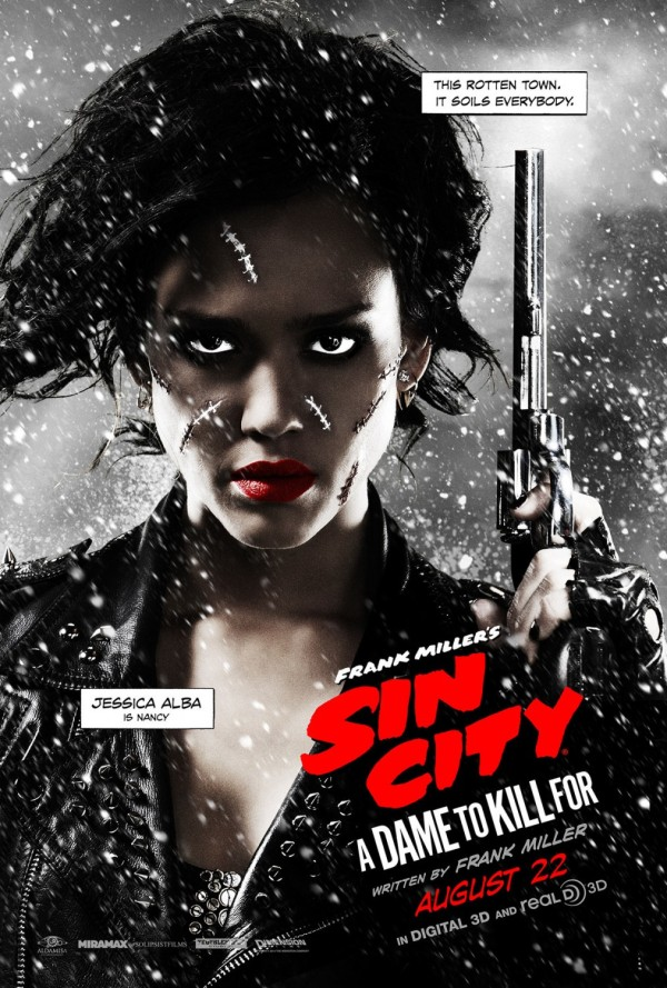 Sin City 2, Character posters