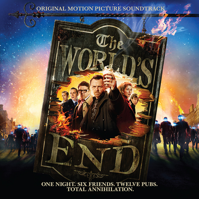 The World's End Soundtrack Artwork